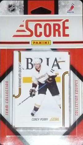 (2011 / 2012 Anaheim Ducks Score Hockey Factory Sealed Team Set Including Corey Perry, George Parros, Ryan Getzlaf, Saku Koivu, Teemu Selanne, Jason Blake, Cam Fowler, Luca Sbisa, Jonas Hille, Dan Ellis and More!)
