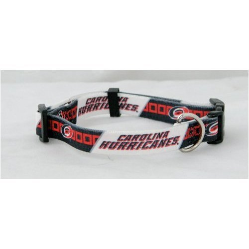Hunter Mfg. LLP NHL Carolina Hurricanes Adjustable Pet Collar, Team Color, X-Small