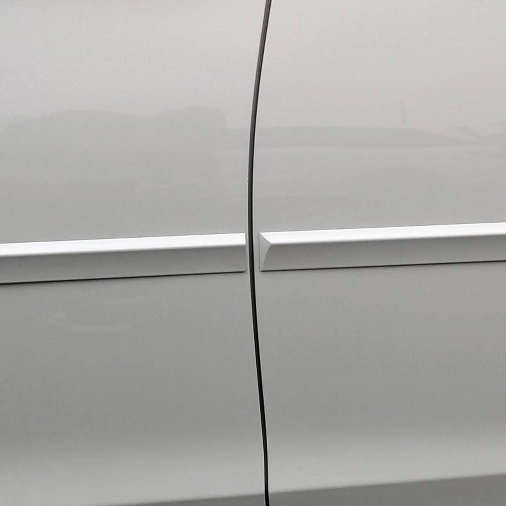 Dawn Enterprises FE7-PALISADE20 Custom Body Side Molding Compatible with Hyundai Palisade WC9 Hyper White Pearl