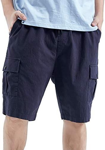 ハーフパンツ メンズ カーゴパンツ 夏 ショーツ 5分丈 無地 半ズボン 薄手 ファッション 902085