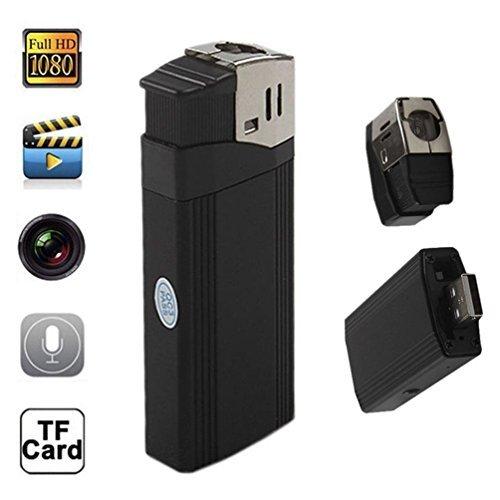 Mengshen Full HD 1920×1080P Lighter Spy Hidden Pinhole Camera Recorder DVR MINI DV Flashlight Camcorder MS-HC12 [並行輸入品] B01KBR79IW