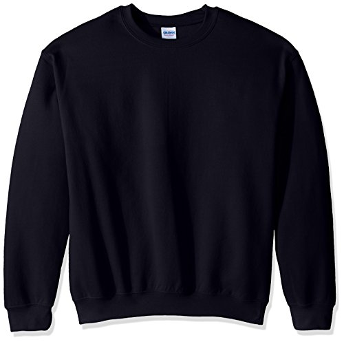 Gildan Men's Fleece Crewneck Sweatshirt, Navy, Small