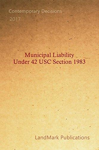 Municipal Liability Under 42 USC Section 1983
