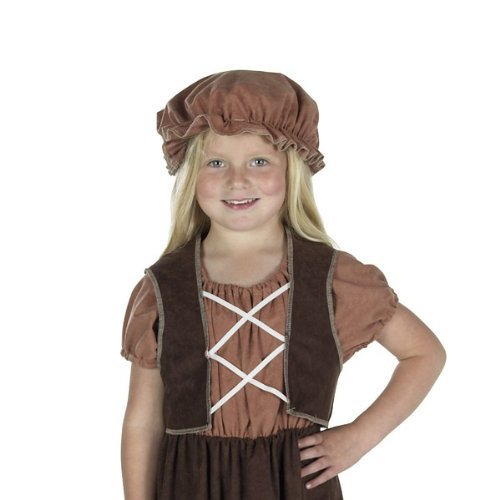 Peasant Mob Hat Costume for kids one size fits all. by Charlie (Peasant Hat)
