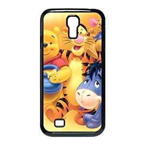 Samsung Galaxy S4 9500 Cell Phone Case Black Tigger & Pooh and a Musical Too Hard Phone Case Cover Plastic CZOIEQWMXN27538