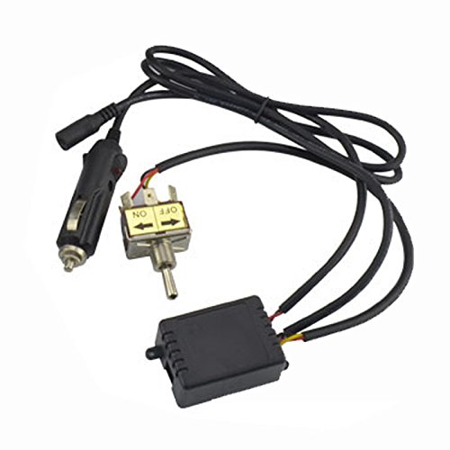 Manual Toggle (Evilenergy Manual Toggle Switch for Electric Exhaust Cutout Kit)