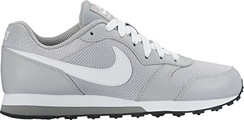 Nike Md Runner 2 (Gs), Zapatillas de Running para Hombre Gris (Gris (wolf grey/white-cool grey-black))