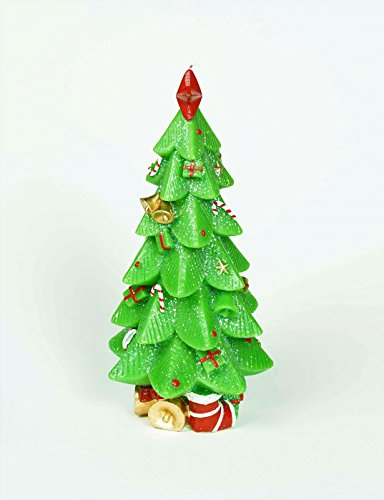 Stunning Tree Candle With Ornaments 12