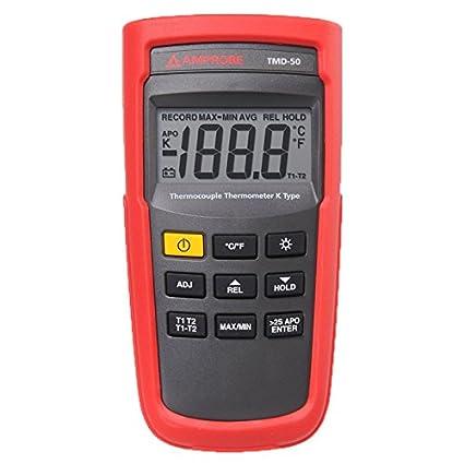 Amprobe tmd-53 termopar termómetro, K/J-Type: Amazon.es: Industria, empresas y ciencia
