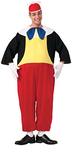 Tweedle Dee And Tweedle Dum Fancy Dress Costume (Forum Novelties Men's Tweedle Dee Costume, Red/Black/Yellow, Standard)