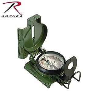Rothco 3H Cammenga G.I. Military Tritium Lensatic Compass