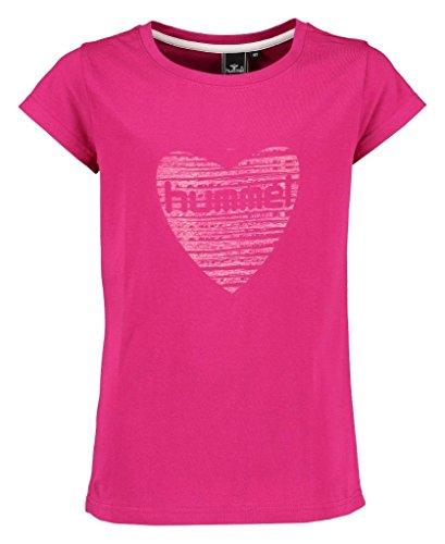 Hummel Mädchen Mille SS Tee T-Shirt, Sangria, 164