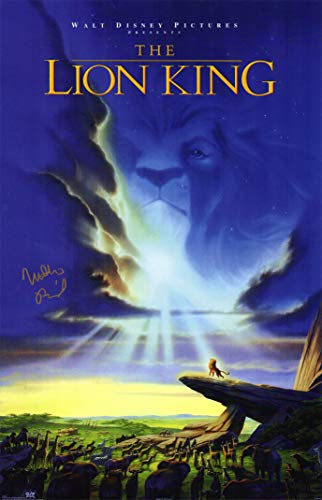 Matthew Broderick Signed The Lion King 11x17 Movie Poster ()