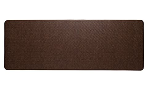 Imprint Cumulus9 Kitchen Mat CobblestoneSeries Island Area Runner 26 in. x 72 in. x 5/8 in. Toffee (Imprint Comfort Mat Cumulus9)