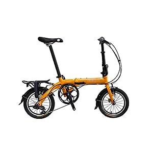 "Pace 3.0 - SoloRock 14"" 3 Speed Aluminum Folding Bike - Super Compact"