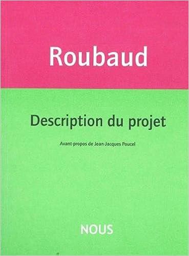 Lire en ligne Description du projet pdf