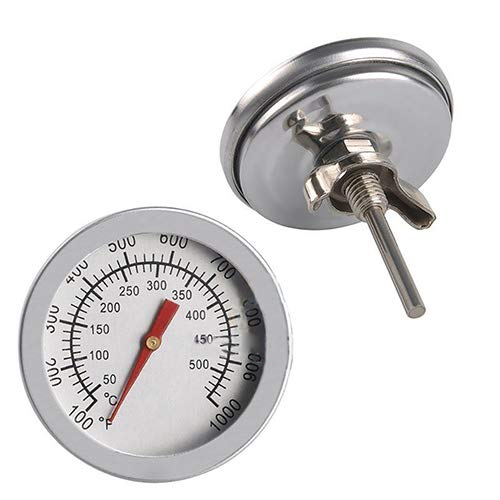 Ss-Lqlhy BBQ Smoker Grill Thermometer Temperature Gauge 50-500℃ Stainless Steel Barbecue