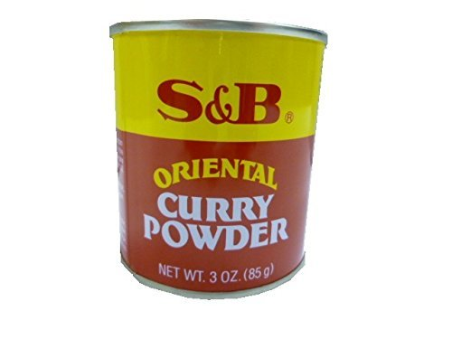 S&B Curry Powder, Oriental, 3 oz (85 g) - Curry Powder Rice