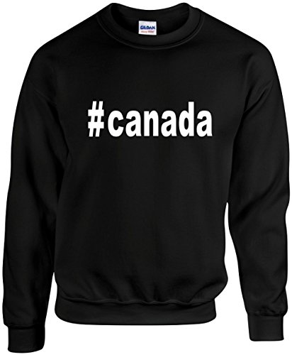 Unisex Funny Crewneck Size 5X (#canada (Hashtag Tee Shirt)) - Canada Usps Priority Mail