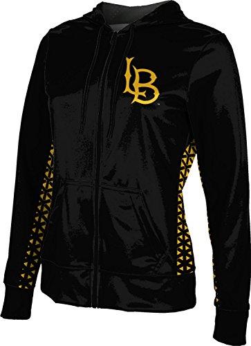 ProSphere California State University Long Beach Women's Zipper Hoodie, School Spirit Sweatshirt (Geometric) F81C1