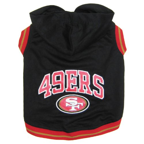 Pets First NFL San Francisco 49ers Hoodie, Medium by Pets First
