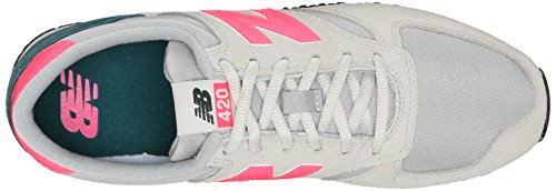 Baskets Mode Balance Gris Femme Wl420 pink B Grey New coe qaZF66