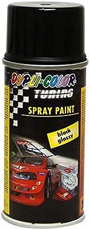 Dupli Color 657801 Tuning Lackspray Spray Paint Glossy 150 Ml Schwarz Auto