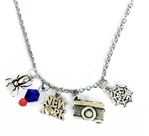 Robin hood Cross Necklace - New York, Web Sterling Silver Jewelry Merchandise for Women ()