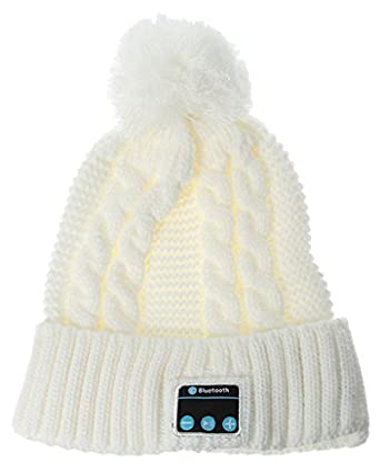 La Vogue Adult Unisex Ski Hat with Wireless Bluetooth Knitted Beanie Music Hat