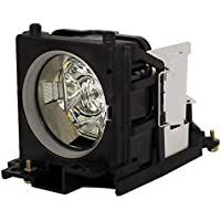 AuraBeam Professional Replacement Projector Lamp for Hitachi DT00691 With Housing (Powered by Philips)