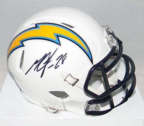Melvin Gordon Autographed Mini Helmet - San Diego Speed - JSA Certified - Autographed NFL Mini Helmets