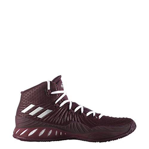 adidas Crazy Explosive 2017 Schuh Herren Basketball Kastanienbraun-metallic Silber-blaue Nacht