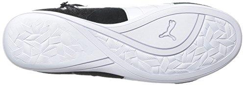 PUMA Women's Eskiva Mid Textured Cross-Trainer Shoe, Black, 7 M US by PUMA (Image #3)