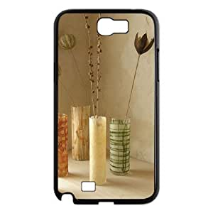 The beautiful vase Custom Cover Case with Hard Shell Protection for Samsung Galaxy Note 2 N7100 Case lxa#479957