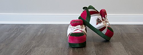 NBA Comfy Womens OFFICIALLY Feet and Sneaker Milwaukee Bucks Feet Happy Slippers LICENSED and Mens qrrz4BYU