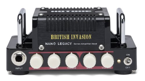 - Hotone Nano Legacy British Invasion 5-Watt Compact Guitar Amp Head with 3-Band EQ