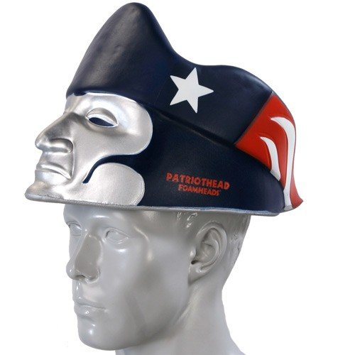 New England Patriots Thematic Mascot Dangle Hat – Football Theme Hats 17a1238f6743
