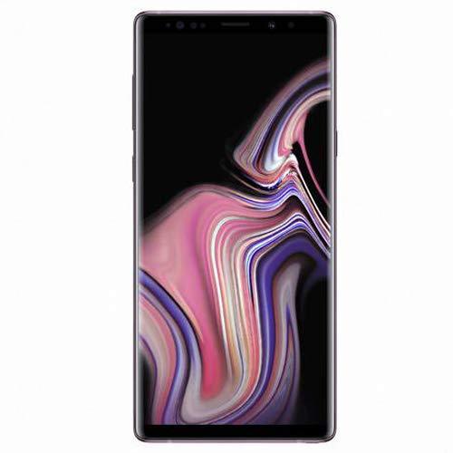 Samsung Galaxy Note 9 SM-N960F/DS 6GB/128GB, 6.4-inches, LTE, Dual SIM, GSM Unlocked International Model, No Warranty (Lavender Purple)