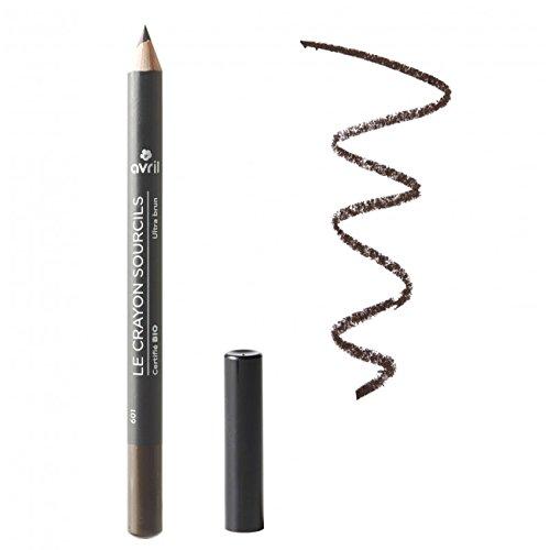 Avril Organic Eyebrow Pencil Ultra Brown (Ultra Brun) 1g
