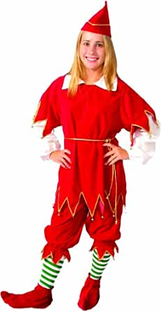 Alexanders Costumes Santa's Little Helper, Red, Medium