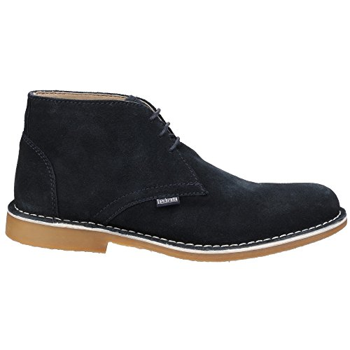 Up Lace Navy Carnaby Boots Lambretta Mens Textile Classic 2 Desert Leather 044xpY