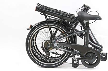 "F.lli Schiano E- Star Bicicleta eléctrica, Adultos Unisex, Antracita, 20"""