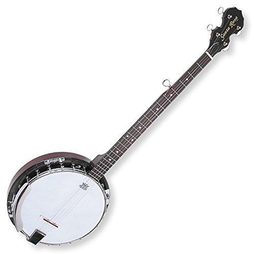 (Santa Rosa KBJ23 5 String Banjo, 24-Bracket with Mahogany Shell and Resonator, Right Handed (KBJ23-IMP)