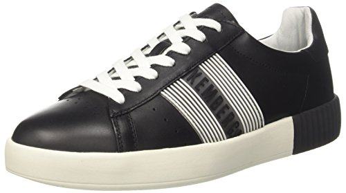 BIKKEMBERGS 0 2096 Sneaker Cosmos White 900 Herren Bianco Schwarz Black rqvwrzE5