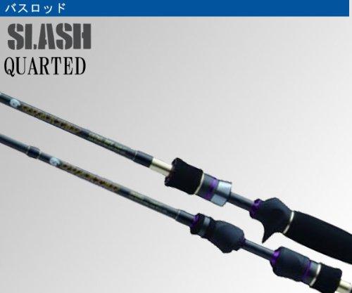 SLASH(スラッシュ) QUARTED C68MH バスロッド ベイトの商品画像