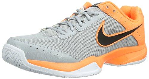 Nike Air Cage Court 549890 Herren Tennisschuhe Mehrfarbig (Wolf Grey/Black/Neon Orange)