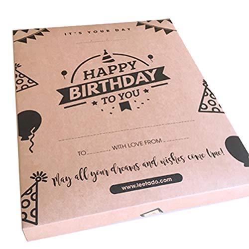 LEETADO Happy Birthday Decorations New Gift - 58 pcs Birthday Party Decorations with Happy Birthday Banner Letters, Latex Balloons, Pompom Flowers, Paper Garland with Box - Amazon Happy Birthday Gift