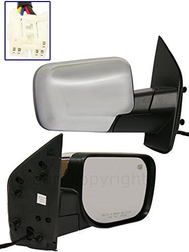 04 nissan titan passenger mirror - 6