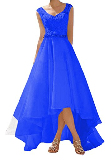 Spitze Frauen Hochzeitskleider Party Lange Königsblau W Brautkleider Kurze Vintage Rustikale D O qxw8EAvnTS
