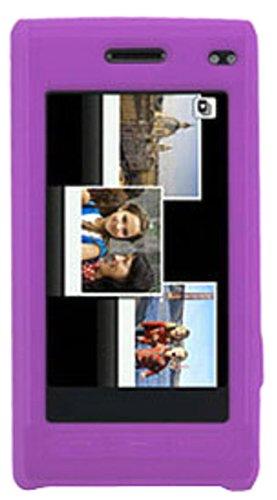Amzer Silicone Skin Jelly Case for Samsung Memoir T929 - Purple ()